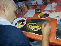 Schilderworkshop voor Segheza